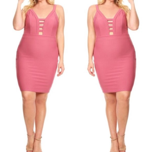 Dresses Plus Size Bandage Dress Poshmark